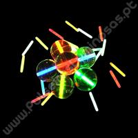 Bolas de Borracha Fluorescentes (2 uds)