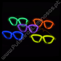 Óculos Fluorescentes Caveiras (50 uds)