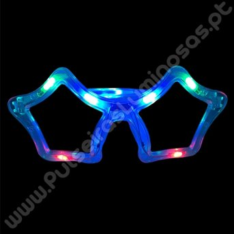 Óculos Led Estrela