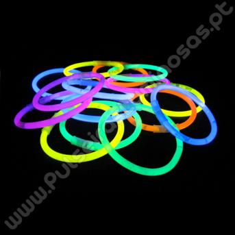 Pulseiras Luminosas Unicolor (100 uds)