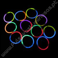 Pulseiras Luminosas Bicolor (100 uds)