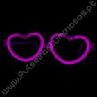 Óculos Luminosos de Coração Individuais