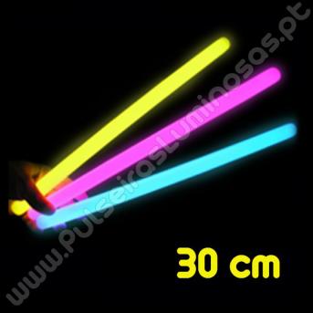 Barrinhas Fluorescentes 30 cm (25 uds)