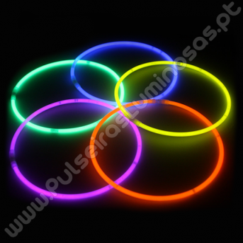 Colares Fluorescentes Unicolor (50 uds)
