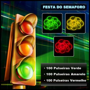 Festa do Semafaro Pulseiras Fluorescentes