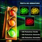 Festa de Semáforo Pulseiras Fluorescentes