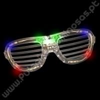 Óculos Led com Raias (1 ud)