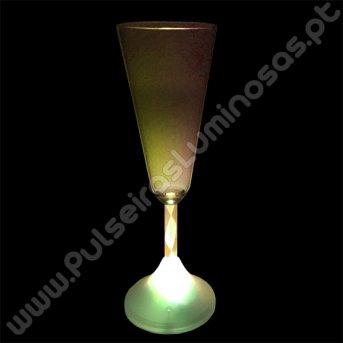 Taça com Luz Champagne