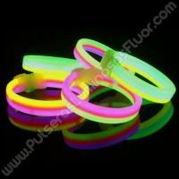 Pulseiras Luminosas Triplas (33 uds)