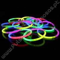 Pulseiras Luminosas Tricolor (100 uds)